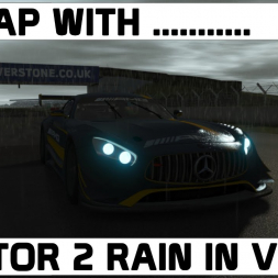 A Lap With ... rFactor 2 VR rain update