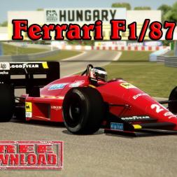 Assetto Corsa * Ferrari F1/87 by ACR [free download]
