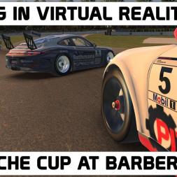 iRacing.com in VR - Porsche Cup Car at Barber