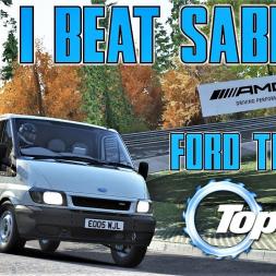 Trying to Beat Sabine Schmitz's Nordschleife Transit Van Lap - Top Gear Challenge - Assetto Corsa