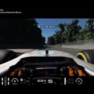 GTS F1 W08 Mercedes