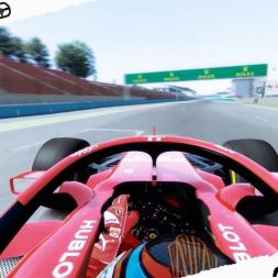 Assetto Corsa Mixed Reality Ferrari SF71-H test at Hungaroring