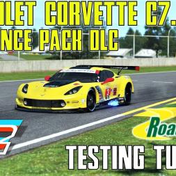 Chevrolet Corvette C7.R GTE - Testing Tuesdays - Endurance Pack DLC - rFactor 2