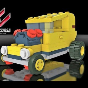 Assetto Mods: Racing the LEGO Hot Rod!