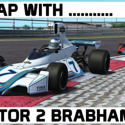 A Lap With ... rFactor 2 Brabham BT44T at Zandvoort