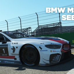 BMW M8 GTE / Sebring International Raceway / Rfactor 2 / Cockpit + Replay