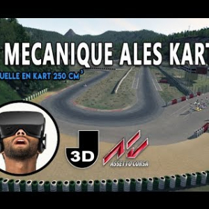 Pôle Mécanique Alès KARTING - Session Virtuelle en VR - Oculus Rift