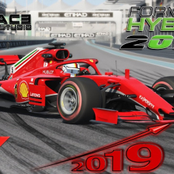 Assetto Corsa * 2019 front wing test for RSS Formula Hybrid 2018 [free download]