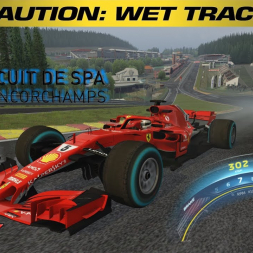 Assetto Corsa Wet * Spa-Francorchamps * ACFL 2018 [free Wet Mod download]