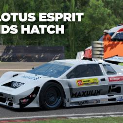 KRB Tiga Lotus Esprit / Brands Hatch / Assetto Corsa / Cockpit + Replay