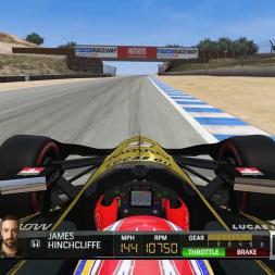 Automobilista   Hotlap   IndyCar 2018   Laguna Seca [1:01.842]
