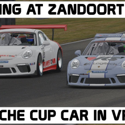 Porsche race at Zandoort in VR