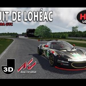 Course virtuelle au circuit de Lohéac - Assetto Corsa