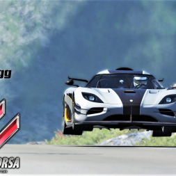 Koenigsegg One:1 Cruise in the Scottish Highlands - Assetto Corsa