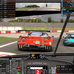 Top Split IMSA Action | GTE at Nurburgring