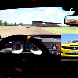 AMS - Thruxton - Chevrolet Camaro - 110% AI race