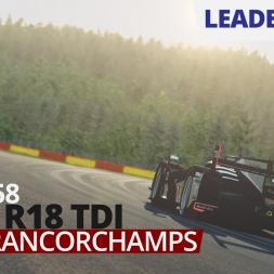 RaceRoom - Audi R18 TDI @ Spa-Francorchamps - 1:58.158