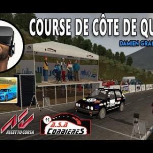 COURSE DE CÔTE QUILLAN 2018 - Golf GTI [VR - ASSETTO CORSA]