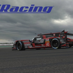 iRacing | iLMS Round 9 | 24 Heures du Mans  #1