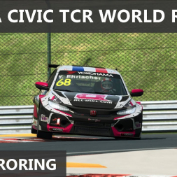 RaceRoom - Honda Civic TCR WORLD RECORD at Hungaroring - 1:51.080