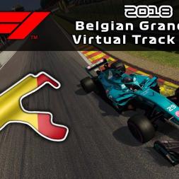 F1 2018 Belgian Grand Prix | Virtual Track Guide | Spa Francorchamps, Belgium | ACFL 2018