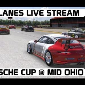 iRacing - Porsche Cup - Live Stream - Mid Ohio