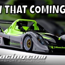 I saw that coming - iRacing Radical SR8 Racing Challenge at Monza