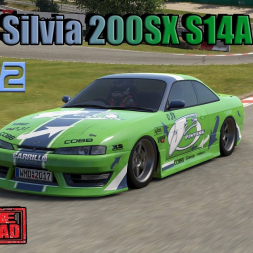 Project Cars 2 * Nissan Silvia 200SX S14A Tuned [mod download]