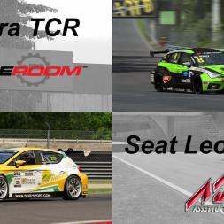 Cupra TCR (R3E) versus Seat Leon TCR (AC)