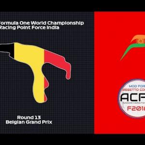 Assetto Corsa: 2018 F1WC // Rd. 13 - Belgian Grand Prix