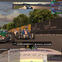 iRacing Monday Night Skip Barber League Action at Belle Isle