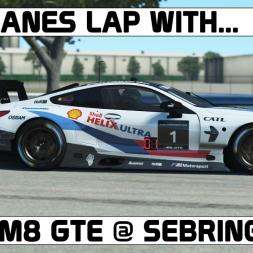 rFactor 2 VR l BMW M8 GTE l Sebring