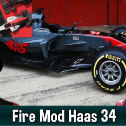 Motorsport Manager Fire Mod - Haas F1 The American Dream 34