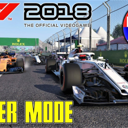 F1 2018 Career Mode Part 1: The Season Begins