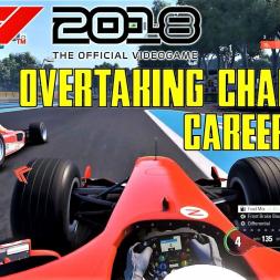 F1 2018 Career Mode: Ferrari F2004 Overtaking Challenge - Paul Ricard