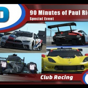 rFactor 2 | RaceDepartment SPECIAL EVENT: 90 Minutes of Paul Ricard