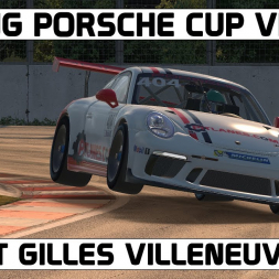 iRacing VR l Montreal l Porsche Cup Series