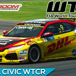 Raceroom - Honda Civic WTCR 2018 (PT-BR)