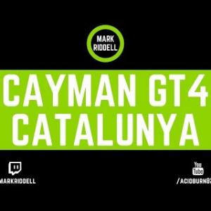 Simsport - Cayman GT4 Clubman - Online Race @ Catalunya
