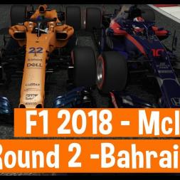 F1 2018 Career Mode - Mclaren - Round 2 Bahrain