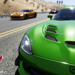 Assetto Online: Racing the Viper at Black Cat County!