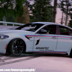 GTA V - Ultra Graphics mod - BMW M5 2019 Drift 4k