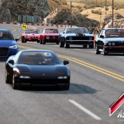 Assetto Corsa: Ferrari 250 GTO AI Race on Black Cat County Long