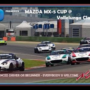 RaceDepartment.com Social Event: Mazda MX-5 Cup @ Vallelunga Classic Oculus VR