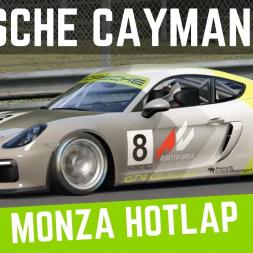 Porsche Cayman GT4 Clubsport   Monza Hotlap