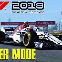 F1 2018 Career Mode Part 3 | Unbelievable Strategy Call Gives Sauber The Win! | China