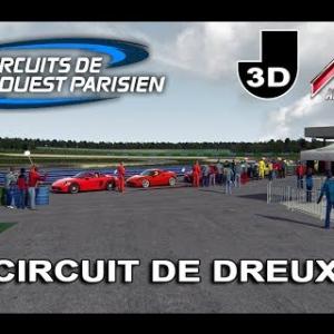 CIRCUIT DE DREUX - ASSETTO CORSA [VIDEO VR HD]