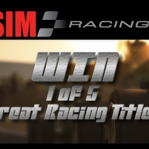 WIN 1 of 5 Great Racing Titles