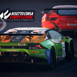 Assetto Corsa Competizione Graphics Test at Dusk