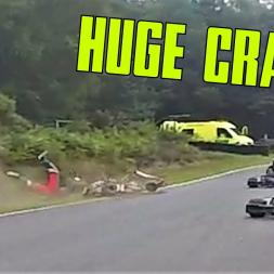 HUGE CRASH! - Camberley Kart Club